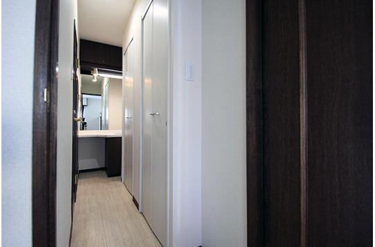 シャワー室は2室