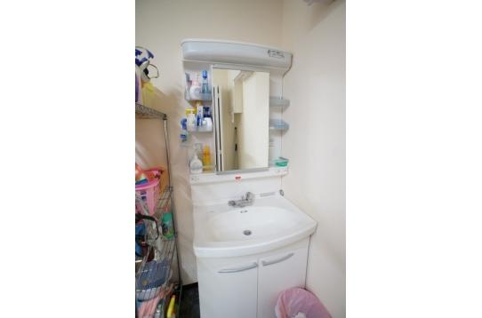 標準的な洗面台 3か所