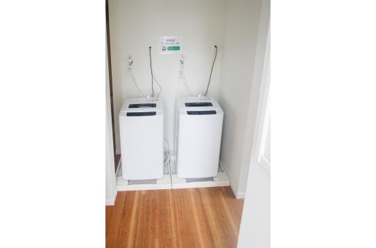 洗濯機は3台(1台はペット用品可)