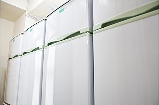 1人1台冷蔵庫をご用意しました