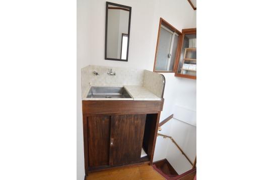 2階洗面台の様子