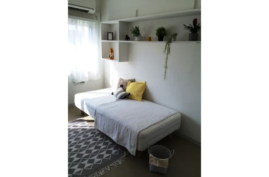 お部屋も平均8帖以上で嬉しい家具付き