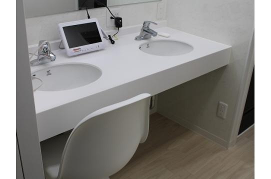 女性専用洗面所、お手洗い