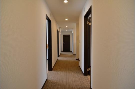 2階には個室が全6室。