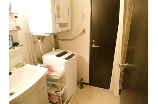 洗面所。清潔感が大事