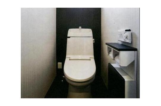 シャワー洗浄式トイレ