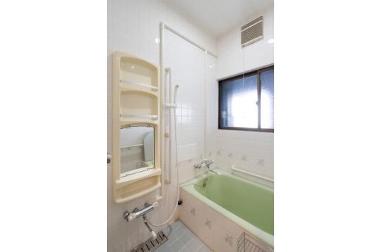 浴室完備!