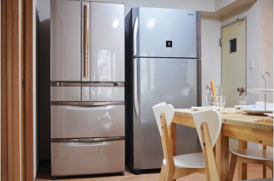 大型冷蔵庫が2台完備されています。