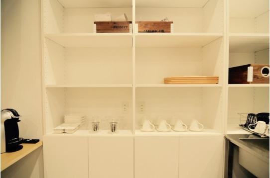 共用食器、キッチン用品も充実しています。