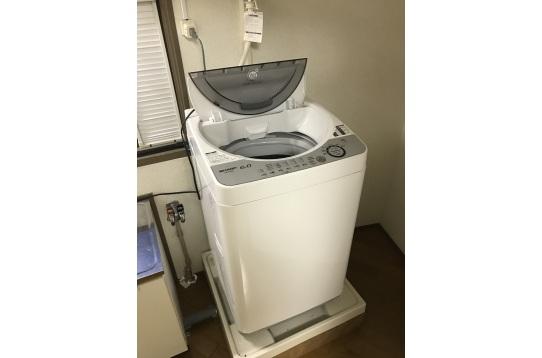 個室・洗濯機