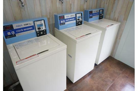 洗濯機は3台ご用意しております。