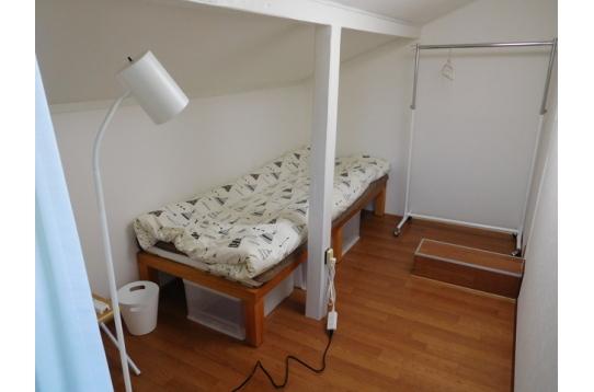 301号室、家賃35000円個室の鍵付き