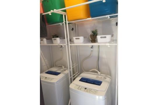 2台ある洗濯機