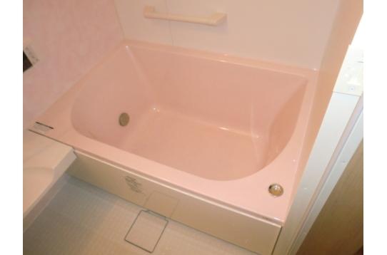 足が延ばせるバスタブ付き風呂(追い炊き機能付き)