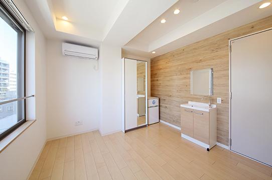 どのお部屋も7畳以上のゆったり設計