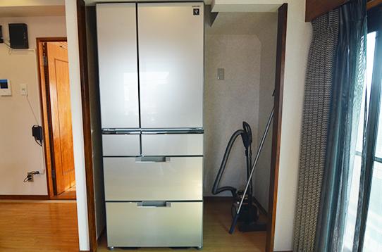 共用の大型冷蔵庫