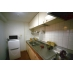 キッチン:冷蔵庫とオーブントースター