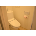 ウォシュレット付きトイレ。