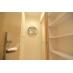 シャワールーム前の脱衣所