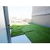 屋上には芝生スペースも。