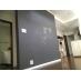 黒板塗装の壁で、落書きやコミュニケーションも。