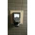 玄関は指静脈認証システムを導入しております。