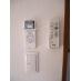 各個室にエアコン、LED照明はリモコン操作