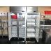 各自のスペースが仕切られている冷凍冷蔵庫
