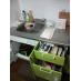 洗剤、調理器具完備。