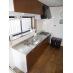 充実のキッチン。家電だけではなく道具類まで完備。