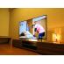 50インチの大型テレビ