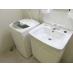 独立洗面台と全自動洗濯機フル完備