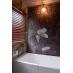 露天風呂のようなデザインのバスルーム
