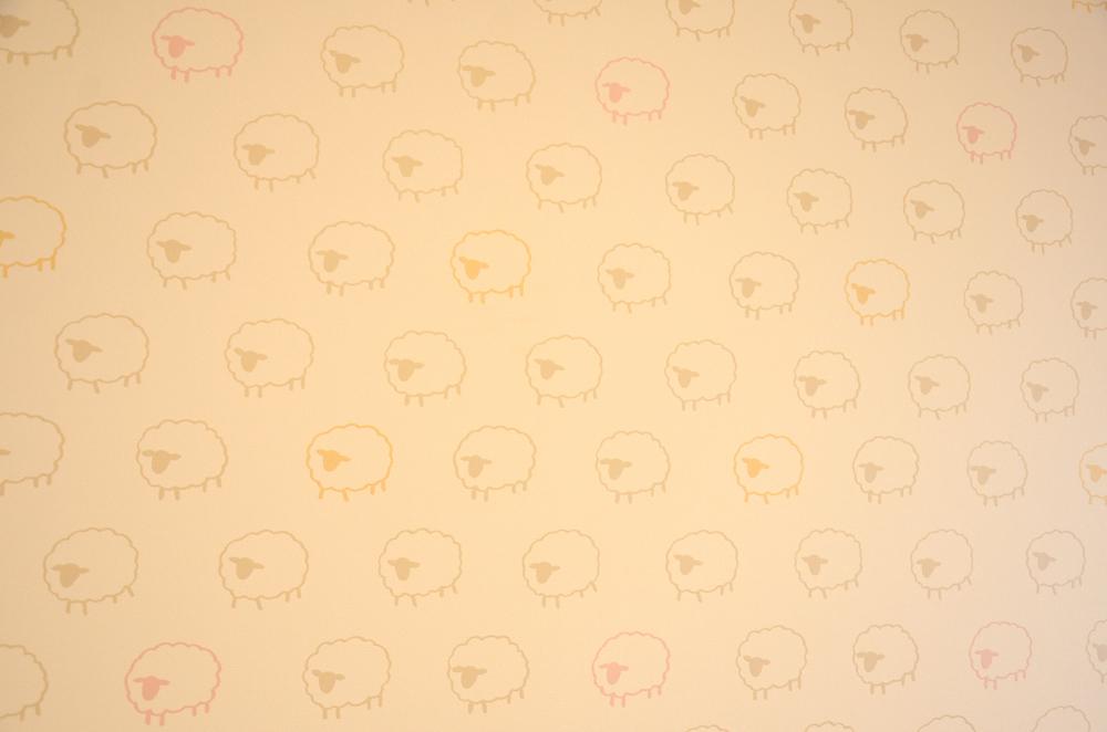 ひつじの壁紙
