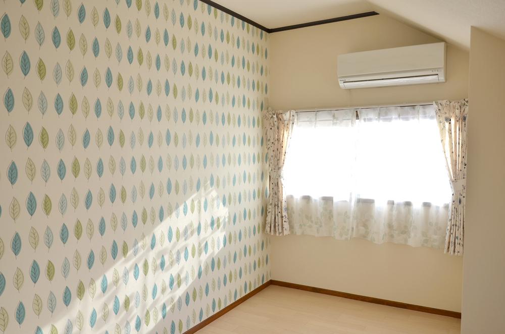 301号室壁紙